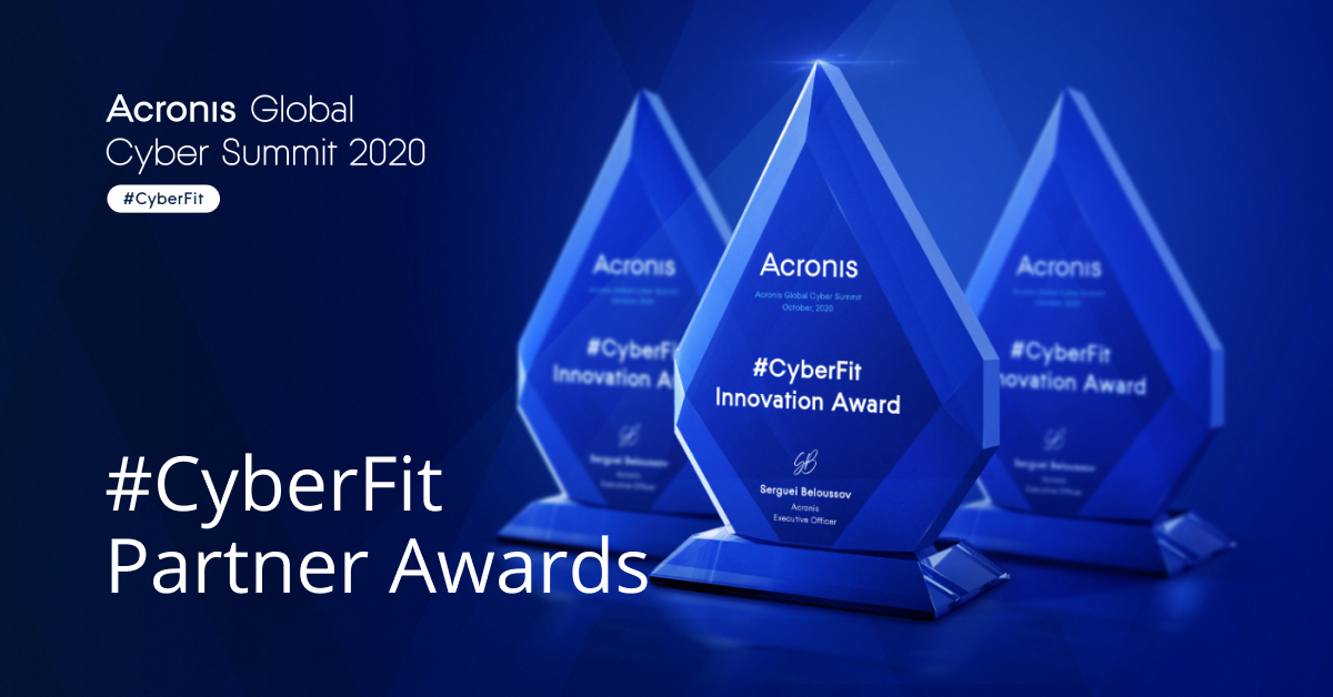 2020 Acronis #CyberFit Partners Awards