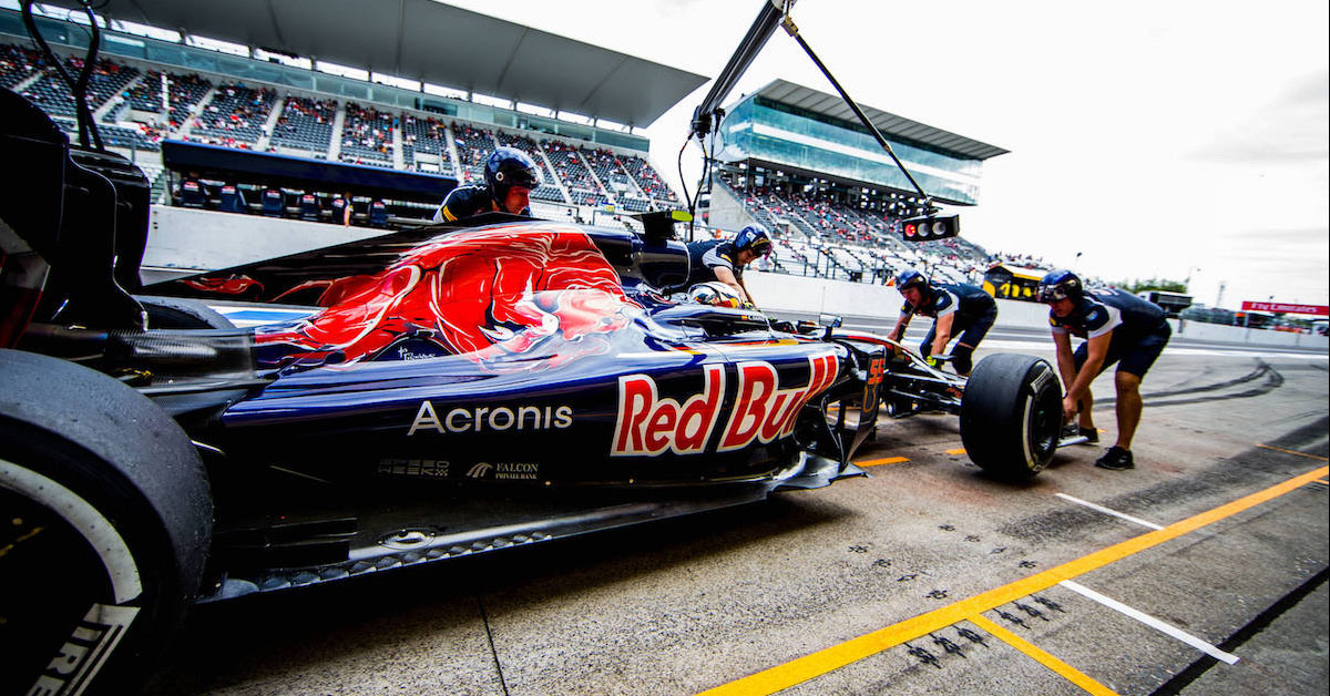 Toro Rosso STR11 during the 2016 season