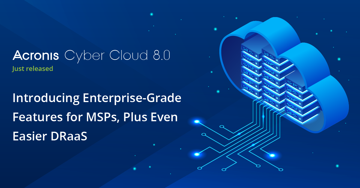 Acronis Cyber Cloud 8.0