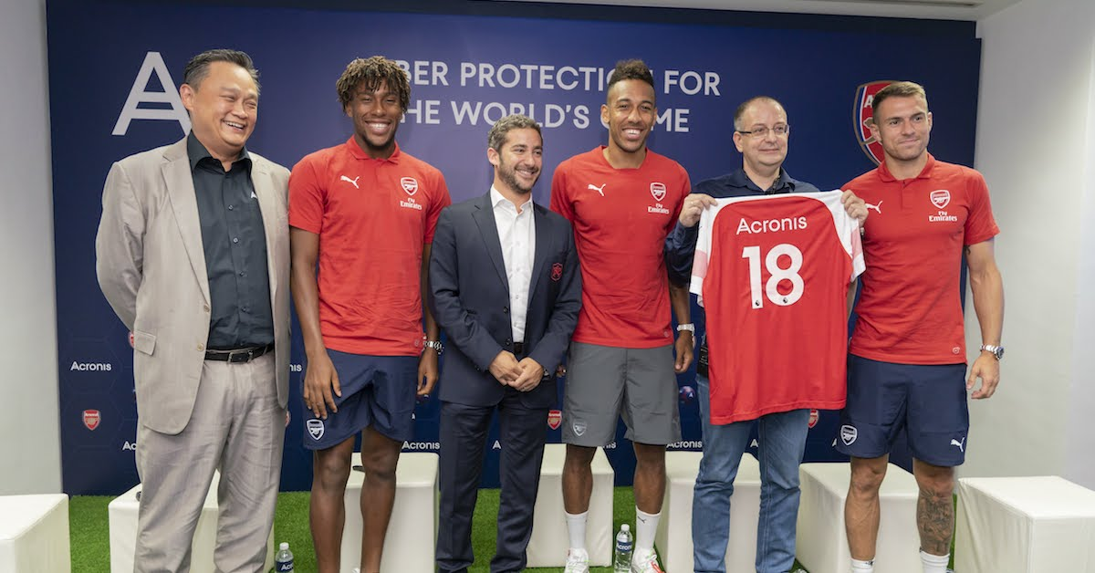 Acronis - Arsenal Partnership