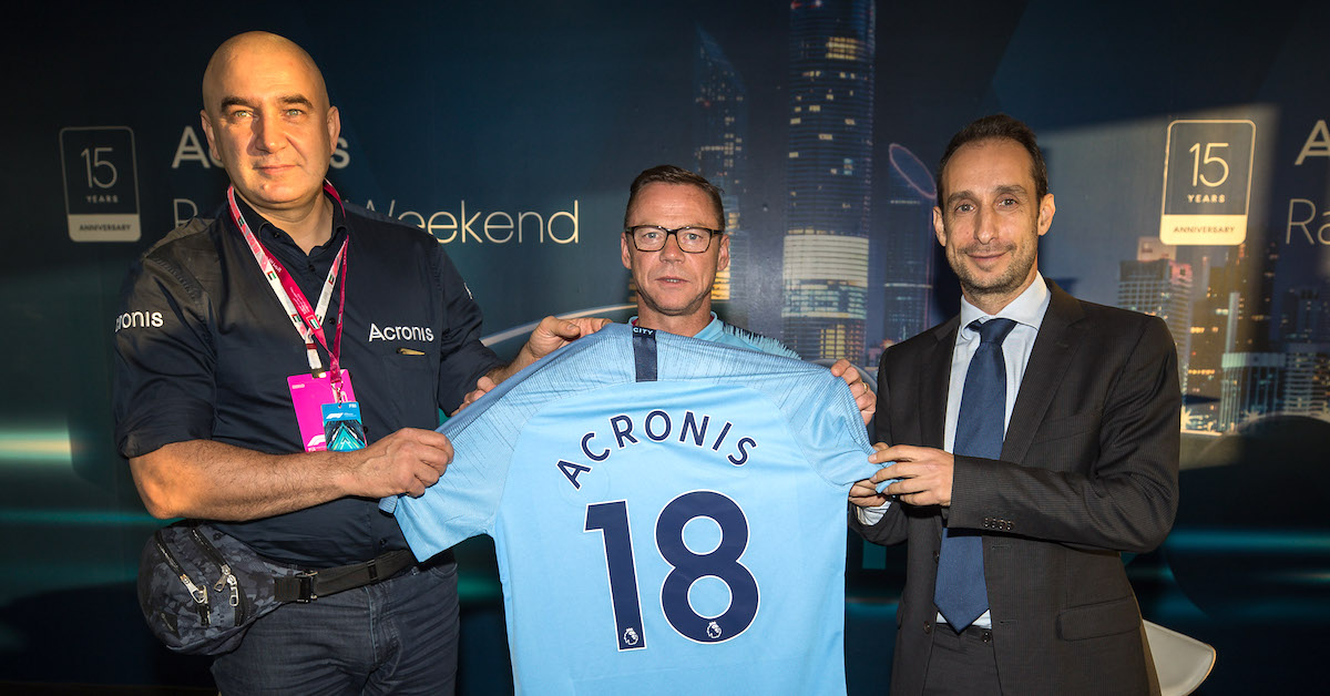 Acronis - Manchester City Partnership
