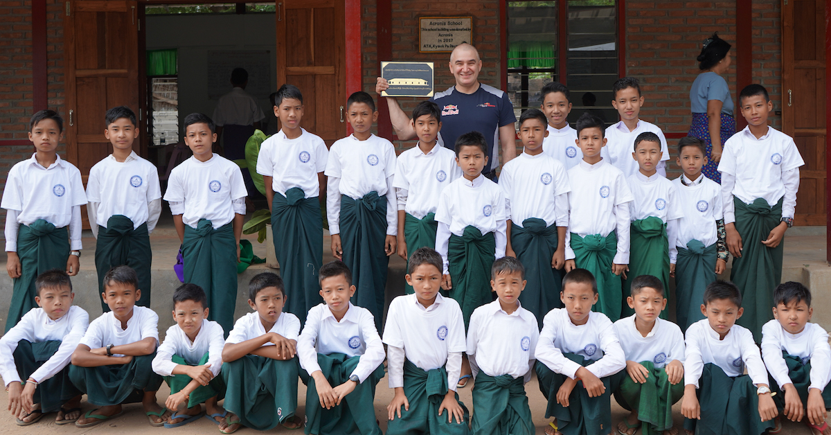 Acronis School in Myanmar