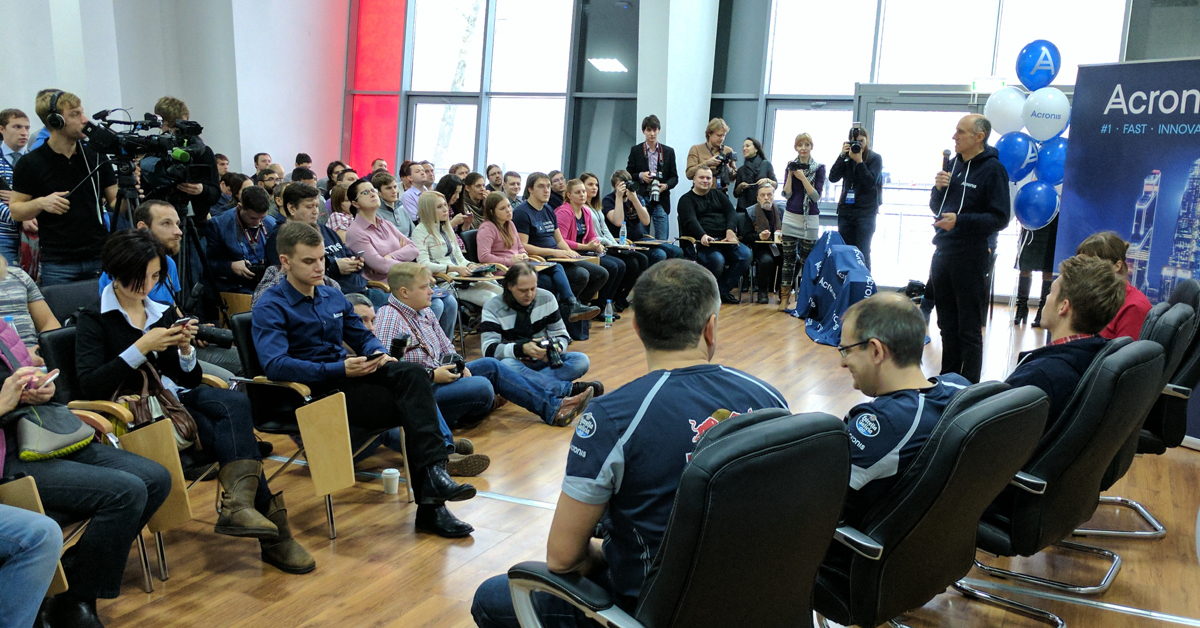 A Day With Toro Rosso in Moscow