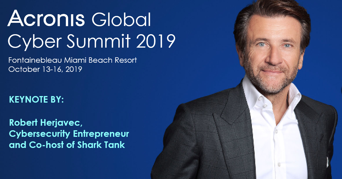 Robert Herjavec announced as keynote