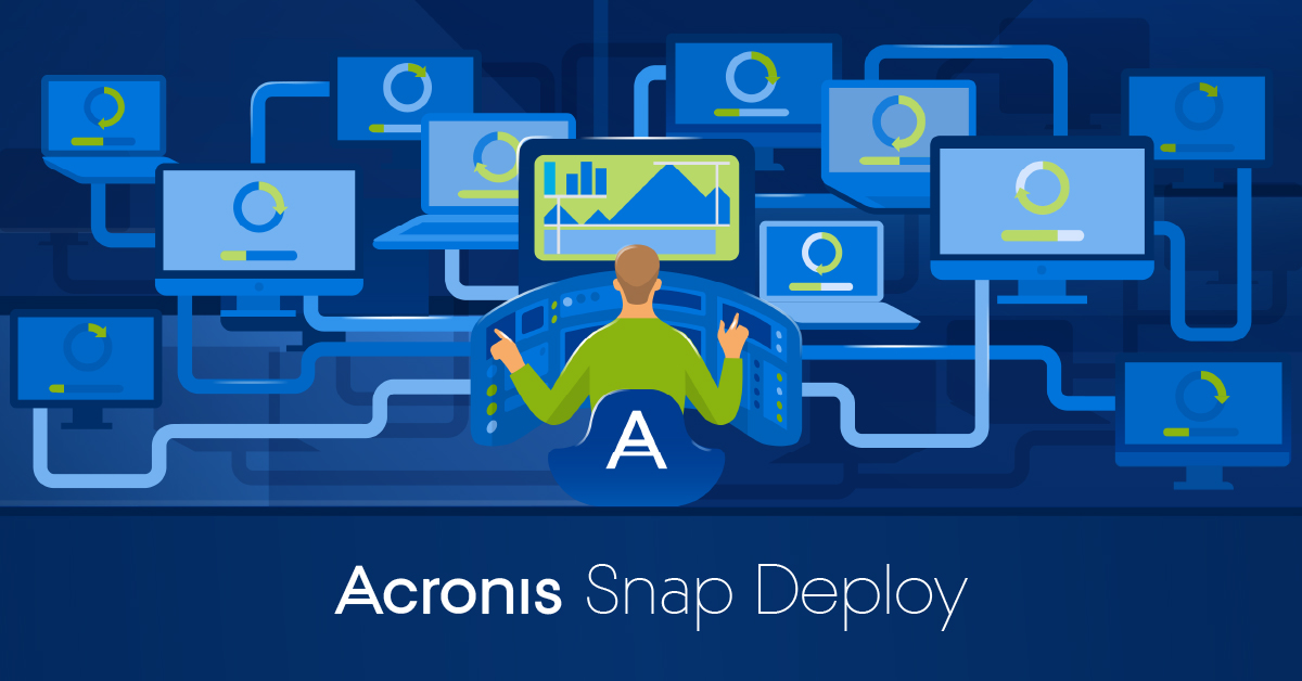 Acronis Snap Deploy. Built for IT productivity.