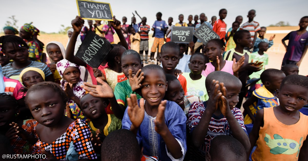 Acronis Foundation starts building a school in Senegal