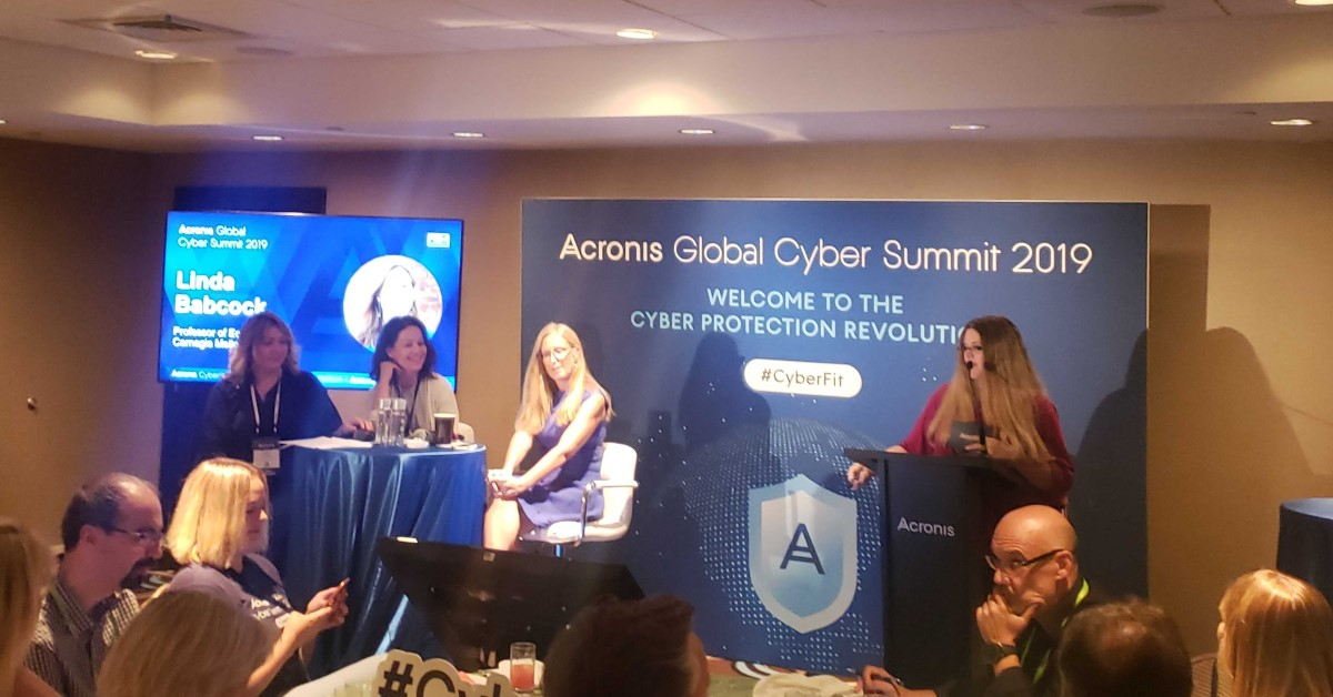 Women in Tech Breakfast - Acronis Global Cyber Summit