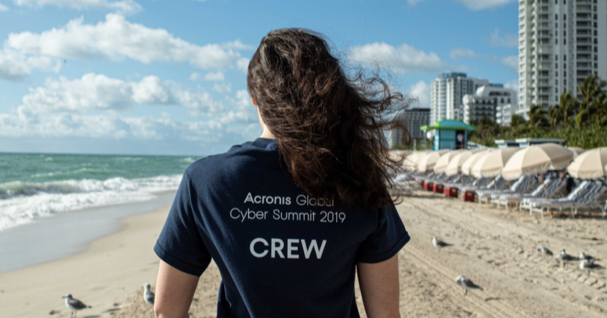 Acronis Global Cyber Summit crew