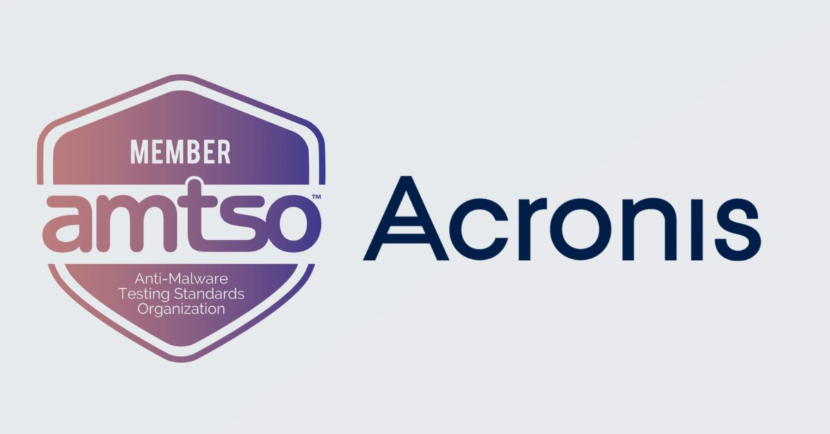 Acronis joins AMTSO