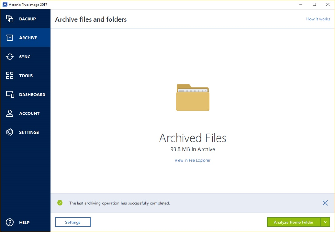 Archived Files