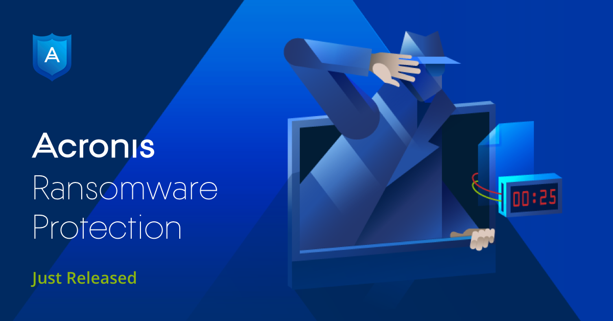 NEW Acronis Ransomware Protection