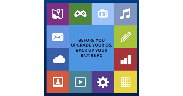 Upgrading To Windows 10? Backup Everything First! – Acronis