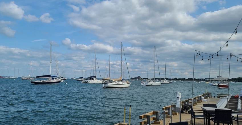 Channel Strong: Positive Vibes Tour starts at a Chicago yacht club