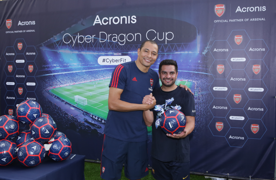 Cyber Dragon Cup at the Acronis Global Cyber Summit