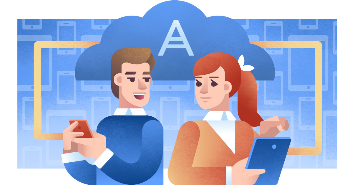 Protecting Corporate Mobile Devices with Acronis Backup 12