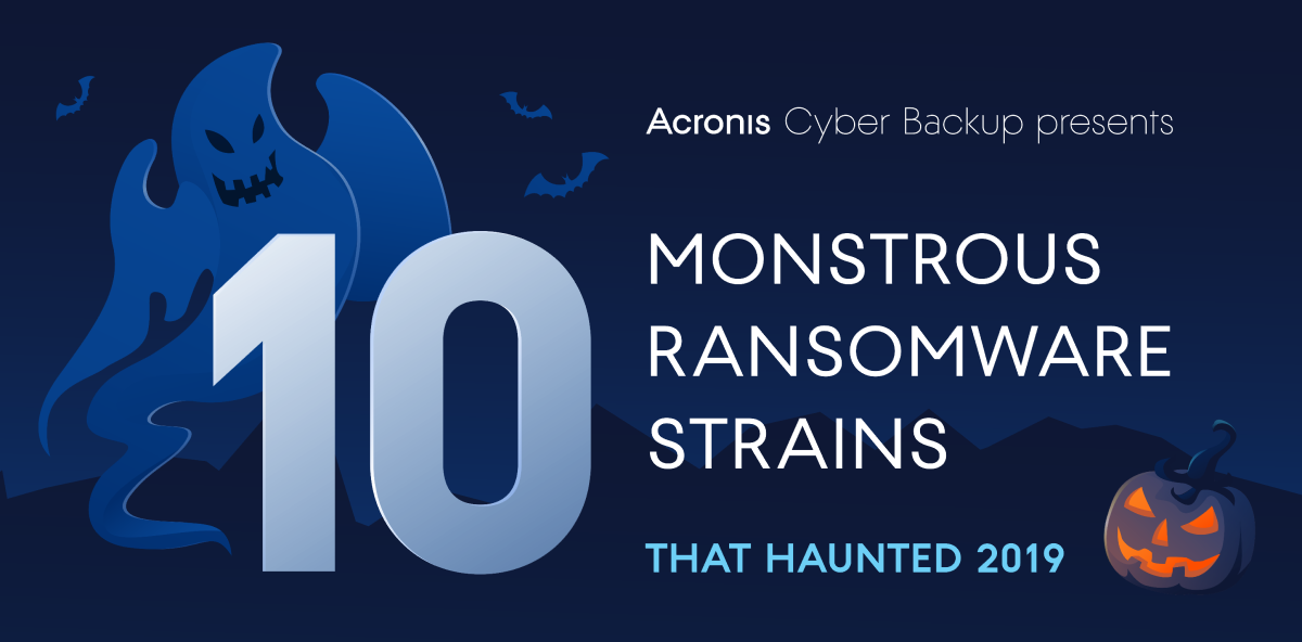 Monstrous ransomware strains from 2019