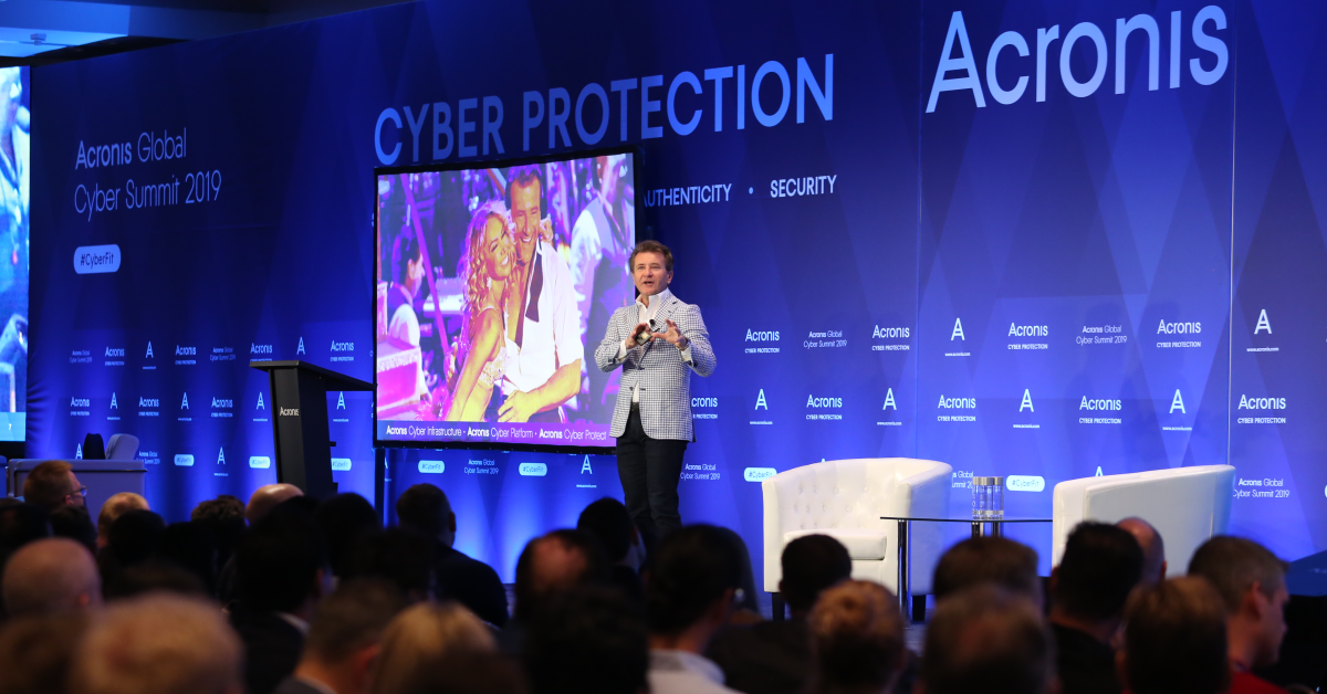 Acronis Global Cyber Summit Keynote Speaker, Robert Herjavec