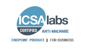 Acronis Cyber Protect Cloud is certified as an ICSA Labs anti-malware solution