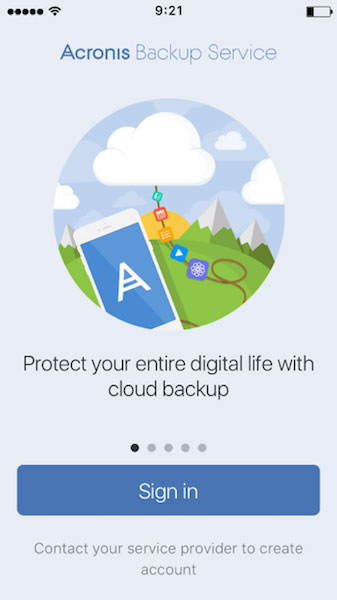 Acronis Backup 12 protects iPhone, iPad and Android devices