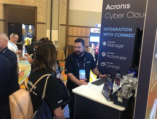 Demonstrating Acronis Cyber Cloud