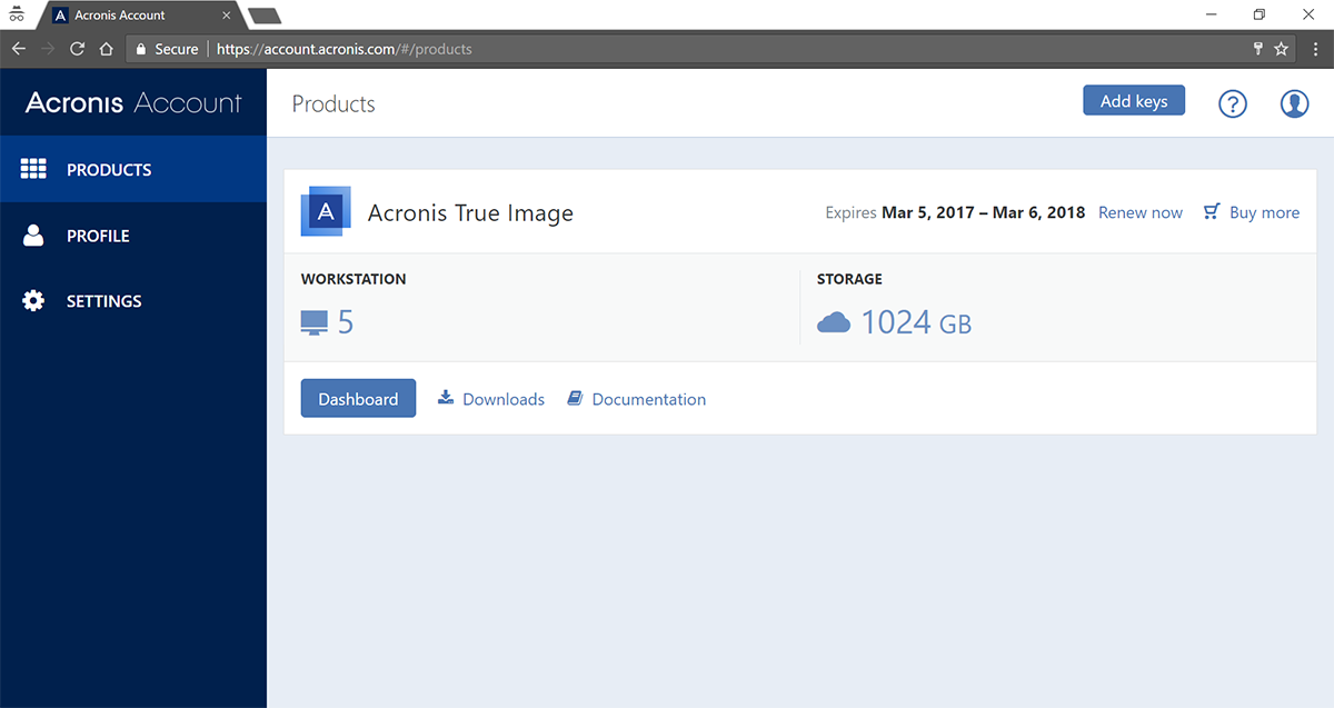 Acronis True Image 2018 Build 10410