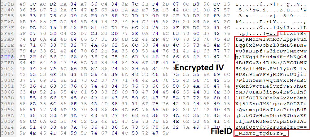 Nemty encrypted file
