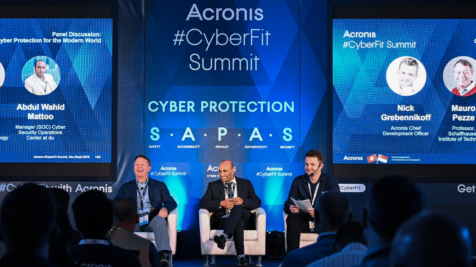Panelists discussed security threats, security technologies, and the shortage of skills in the market.