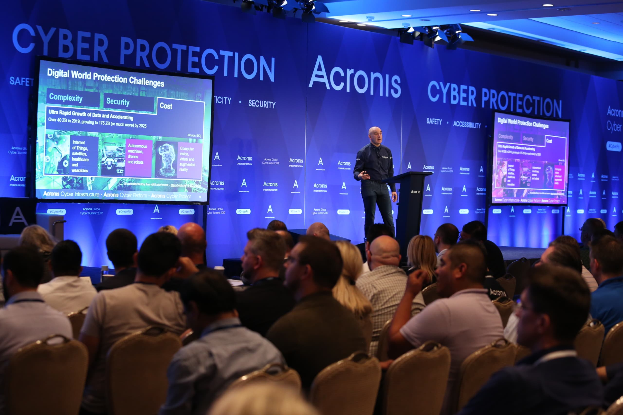 #AcronisCyberSummit workshops and sessions