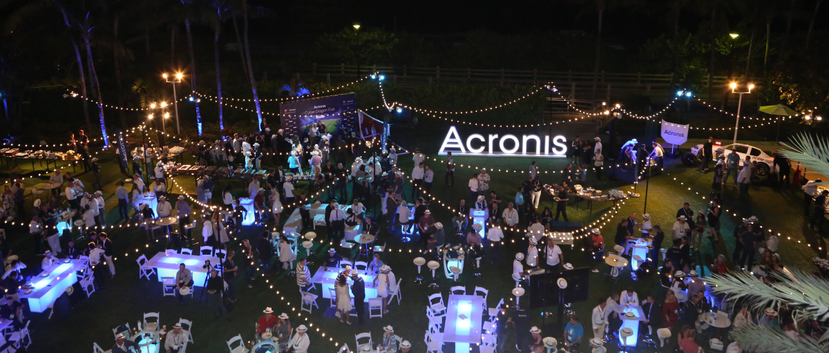 Closing Party at the Acronis Global Cyber Summit
