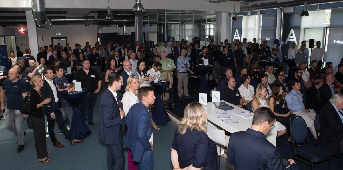 Lots of friends gathered for Acronis' 15th Anniversary kick-off event