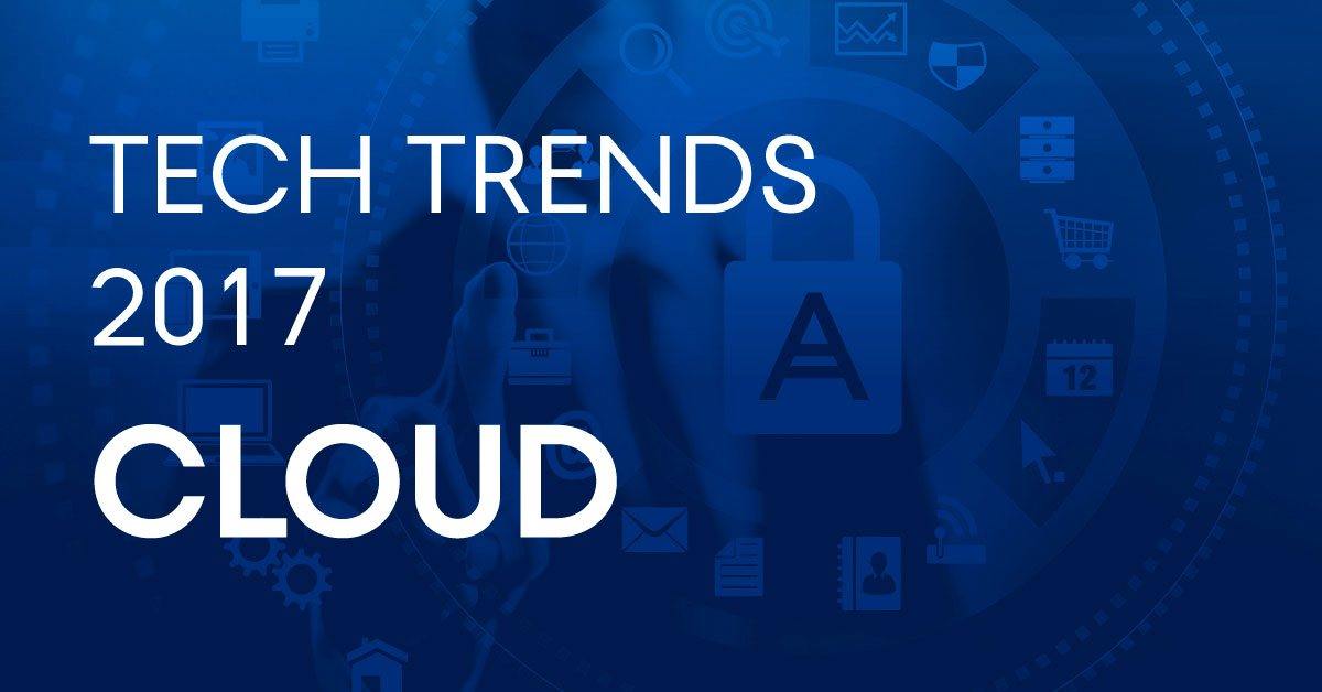 Three Major Cloud Adoption Trends for 2017