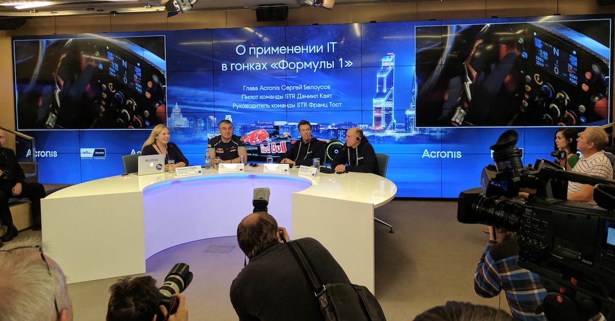 Press conference in Moscow, Russia.