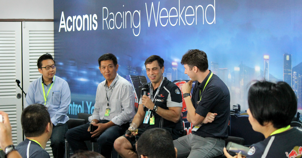 ​Acronis Racing Weekend in Sepang, Malaysia.