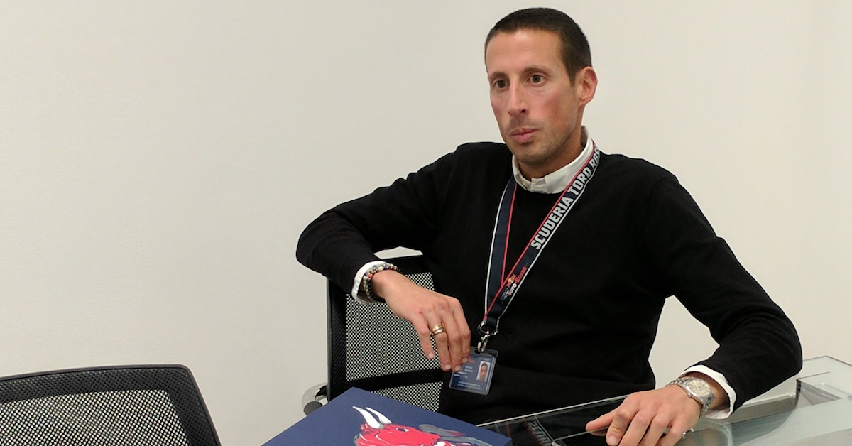 Raffaele Boschetti Head of IT at Scuderia Toro Rosso