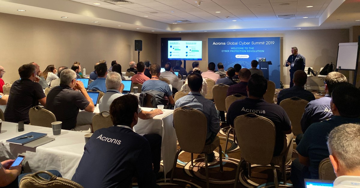 Training Workshops at the Acronis Global Cyber Summit