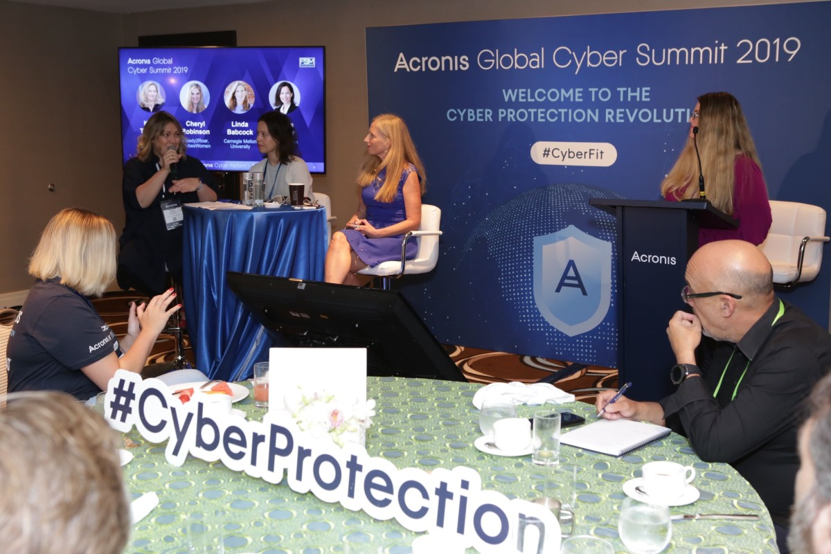 Women in Tech at the Acronis Global Cyber Summit