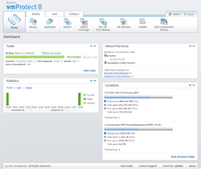 use vmProtect8's intuitive web interface