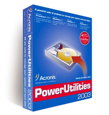 Acronis Power Utilities 2004.502