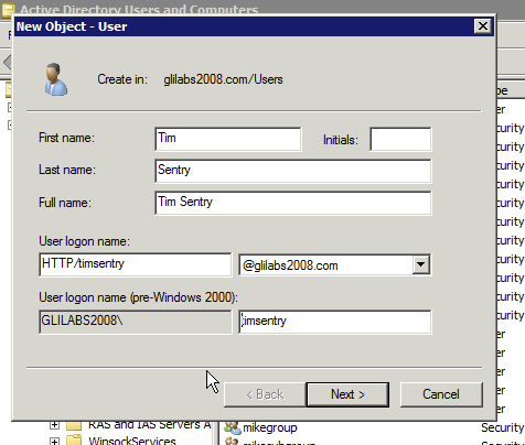 how to create ssl for kerberos authentication