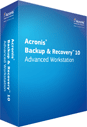 Acronis Backup & Recovery 10 Advanced Workstation
