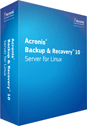 Acronis Backup & Recovery Server for Linux screenshot