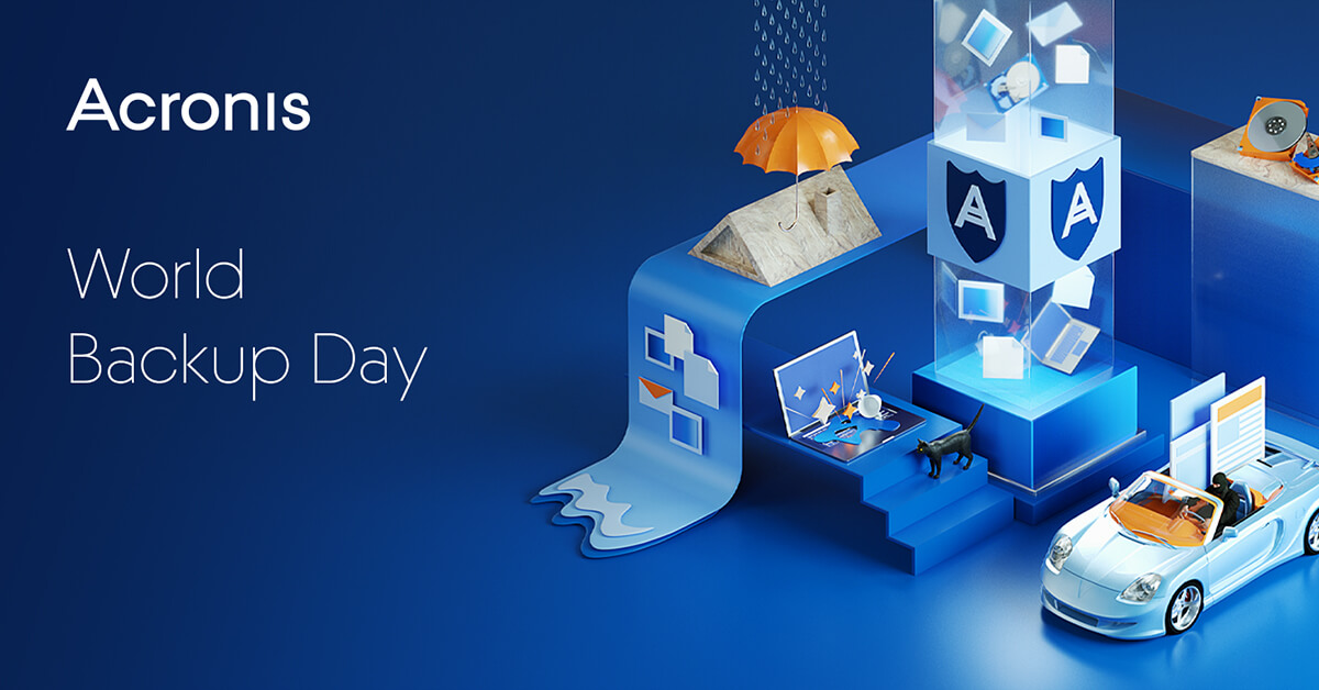 World Backup Day March 31st 2020 | Acronis