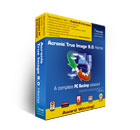 Complete disk imaging or file backup software for home and home office users.