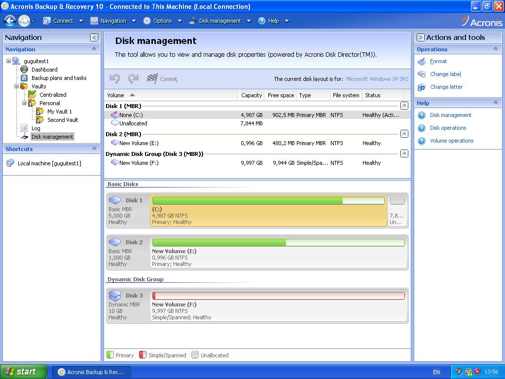 Acronis backup  recovery 10 advanced server virtual edition
