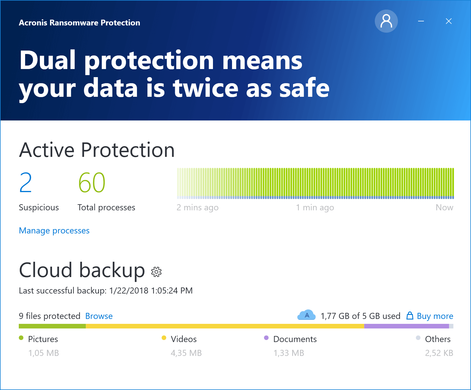 Acronis Ransomware Protection free