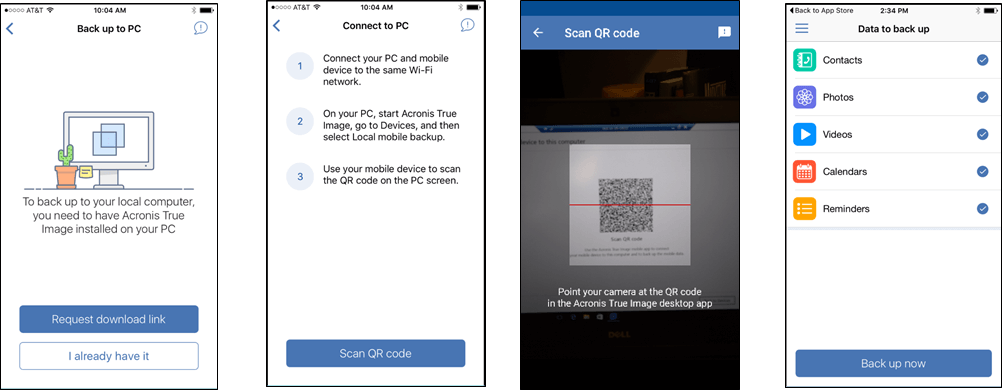 Acronis True Image 2018 makes mobile backups easy
