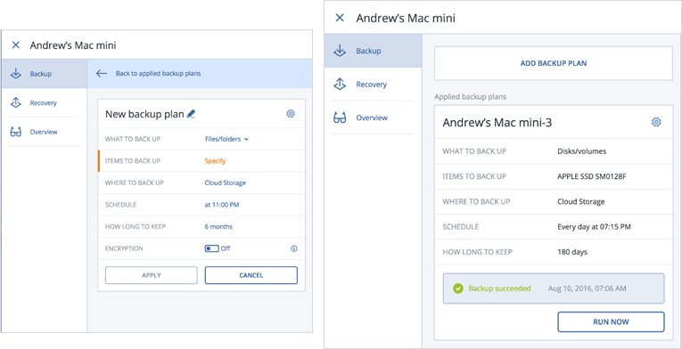 Online Backup in 2019 – 12 Critical Features - Acronis