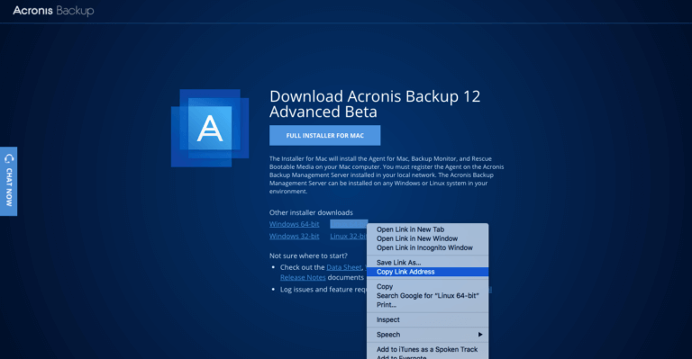 https download acronis