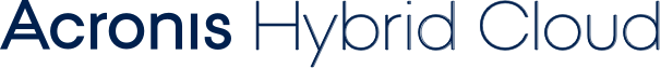acronis hybrid cloud logo