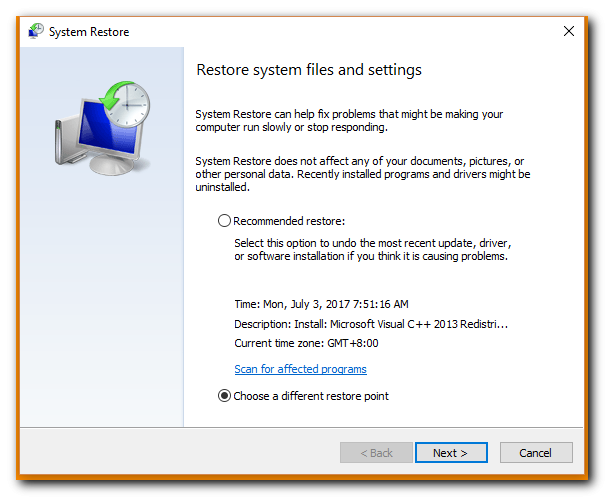 Windows System Restore Not Working? We Have the Solution